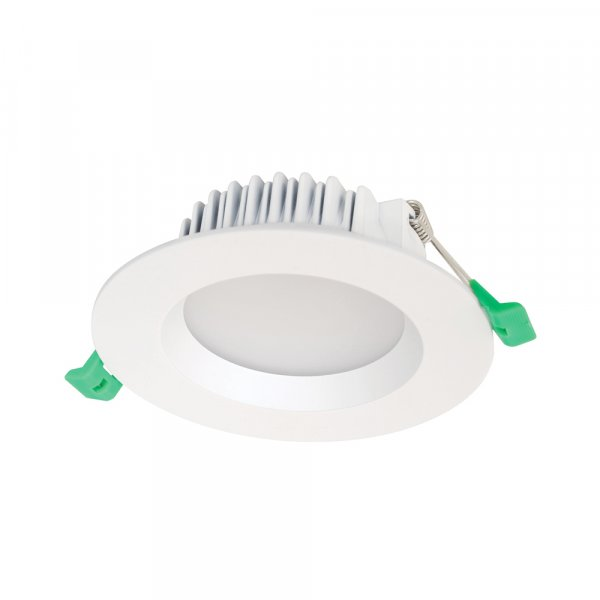 GEO12R - 125mm Fixed LED Recessed Retrofit Downlight 12W White, 3000K, IP44