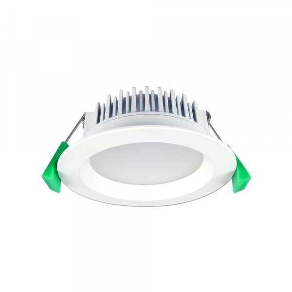 GEO12 - Fixed LED Recessed Downlight 12W White, 3000K, IP44
