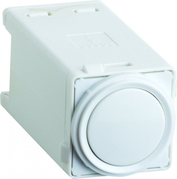 SECONDARY CONTROL PUSH BUTTON WHITE, EXCEL LIFE